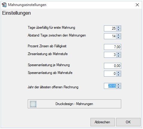 Mahnwesen Mastersoft Software Entwicklung